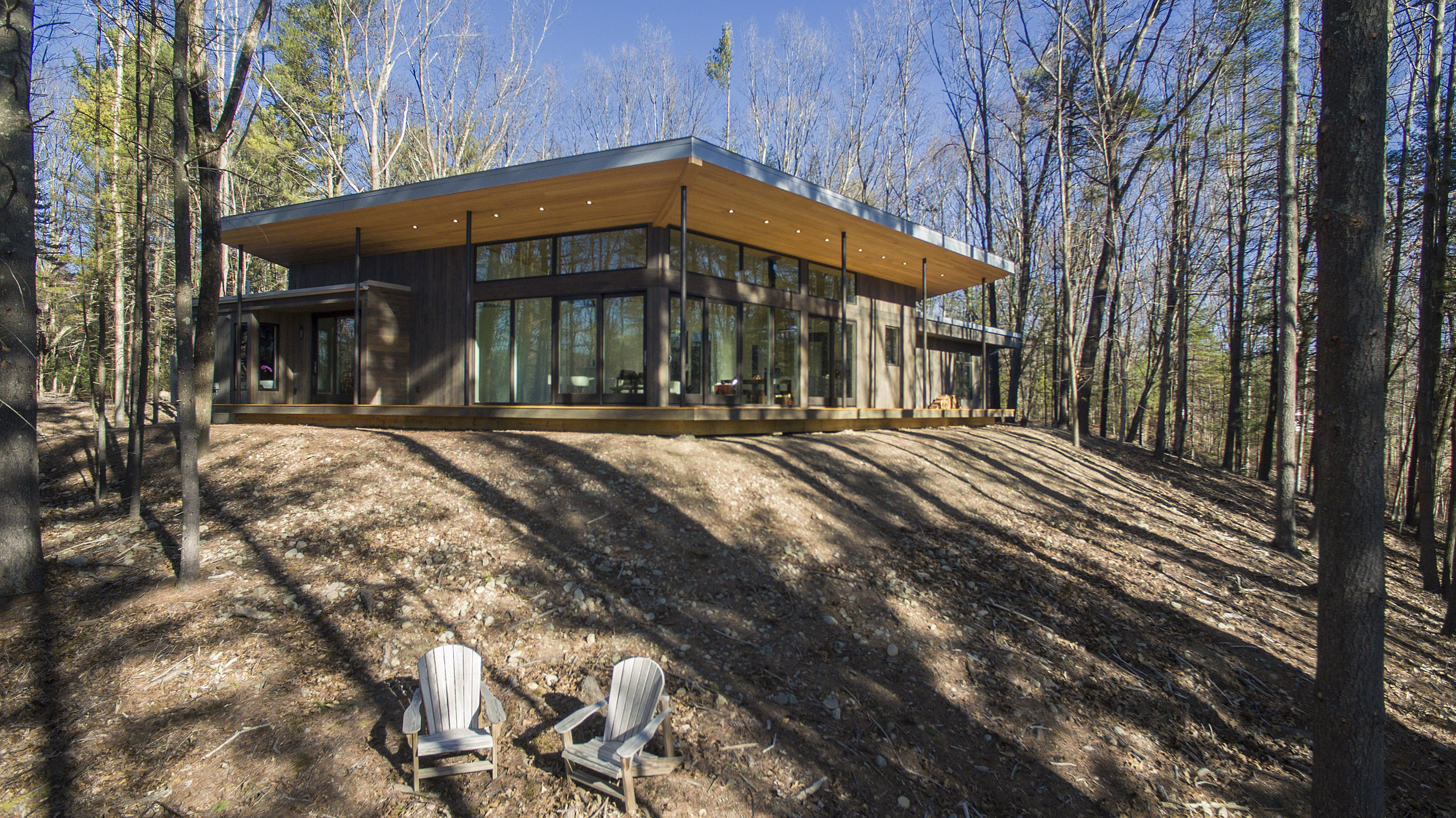 Modern Home Hudson Valley - Lantern Ridge House
