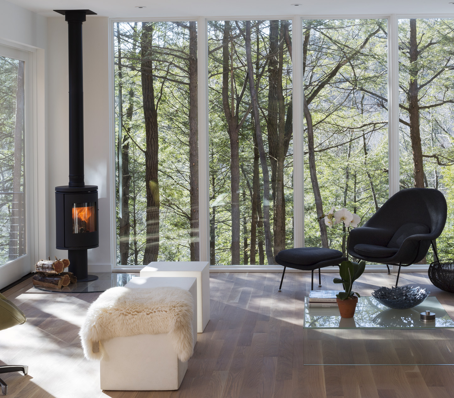 Modern Home Hudson Valley - Creek House by Studio MM Architect