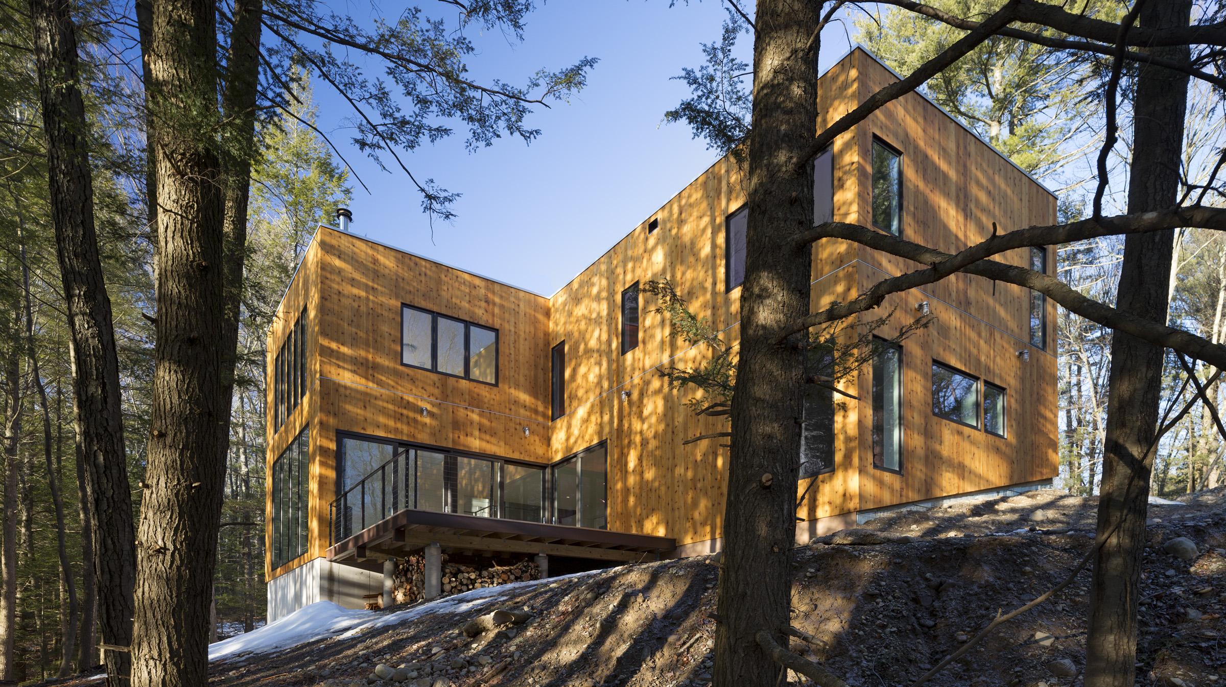 Creek House - HV Contemporary Homes - Modern Design in NY\'s Hudson ...
