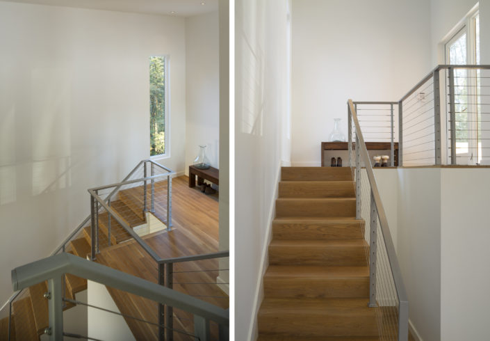 Creek House - modern stairs by Studio MM Architect