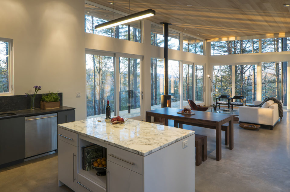 Contemporary Design Features: Expansive Glass