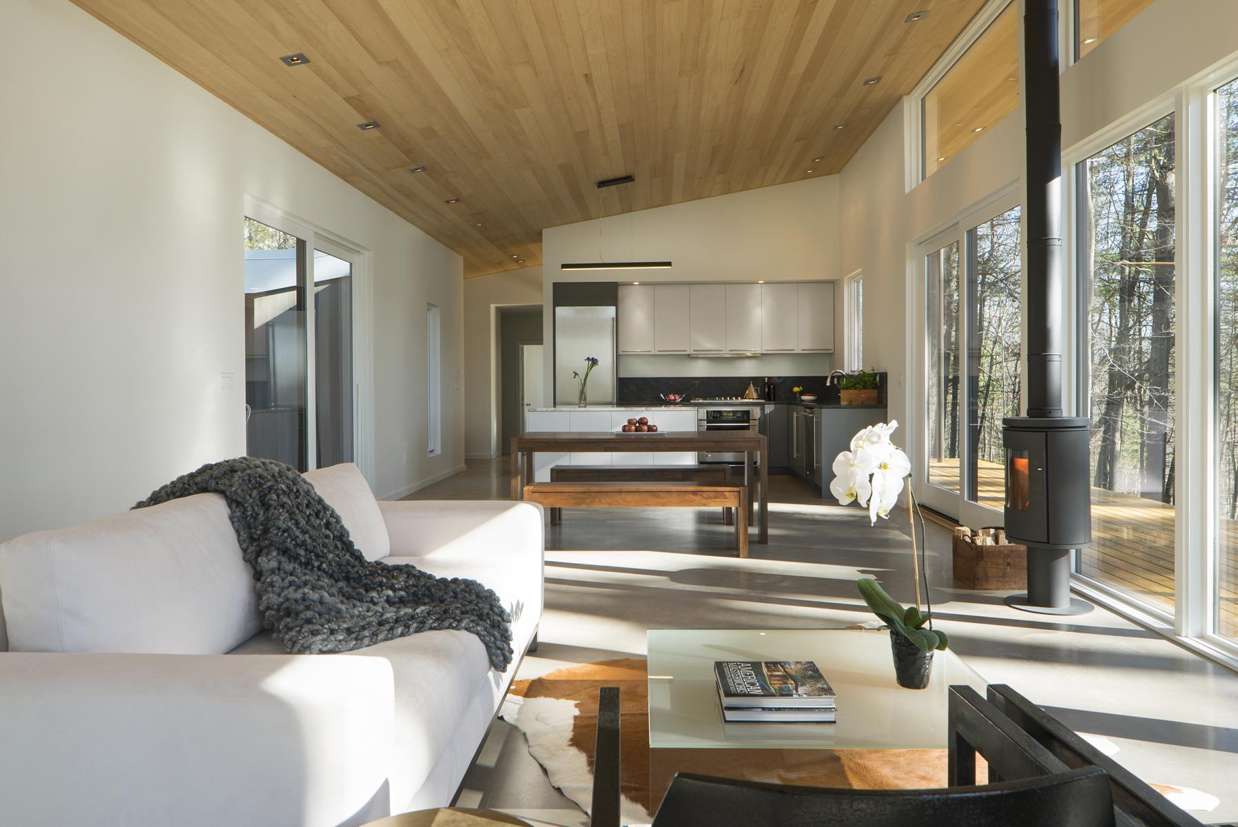 Modern Home Hudson Valley - Lantern Ridge House