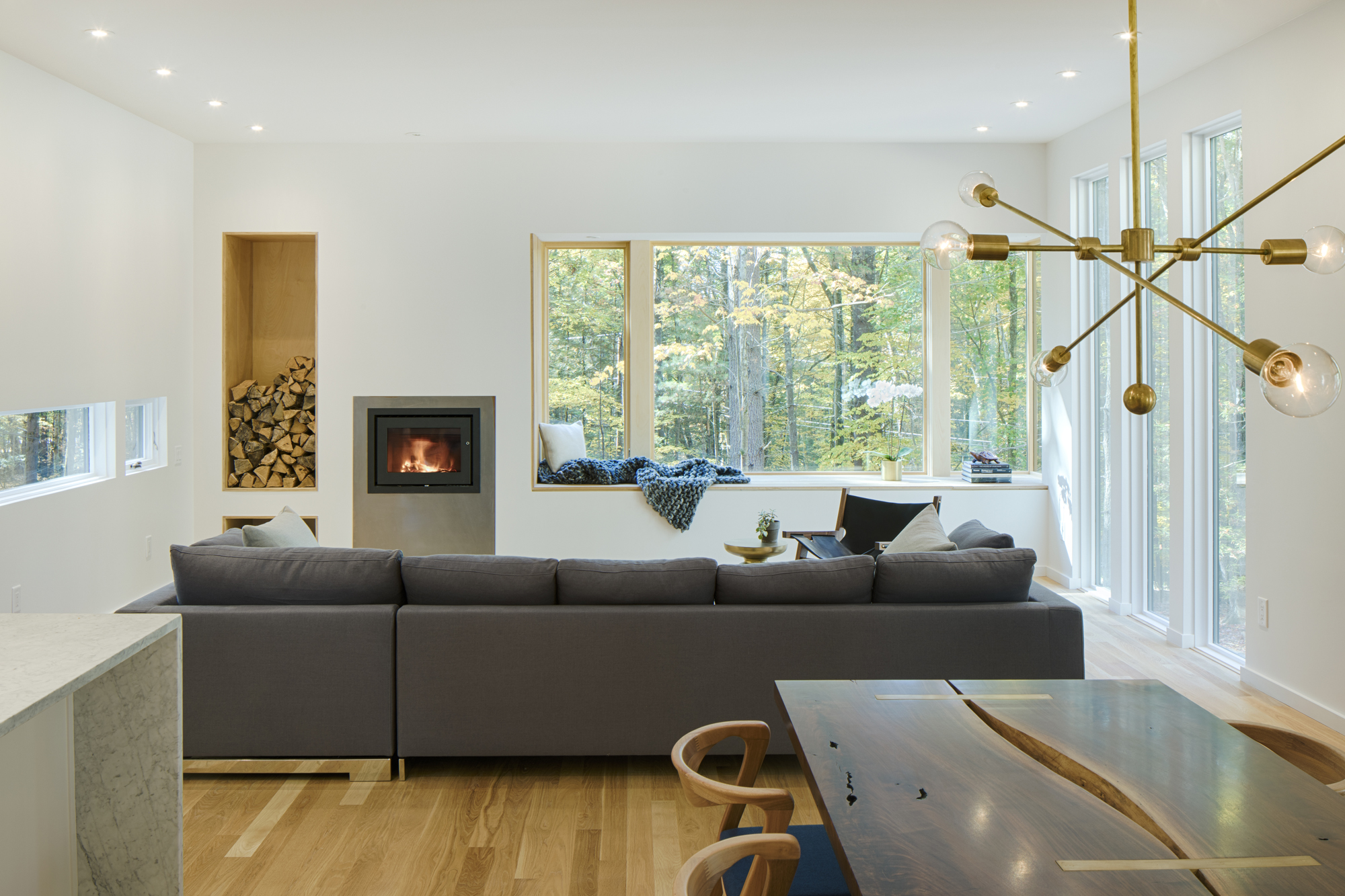 Designing for a Modern Home in the Woods