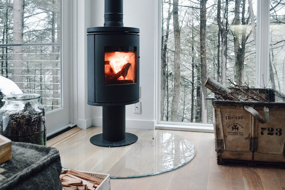 Modern Wood Stoves Hv Contemporary Homes Modern Design In Ny S Hudson Valley