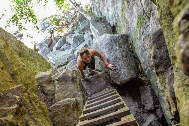Lemon Squeeze - Hiking at Mohonk