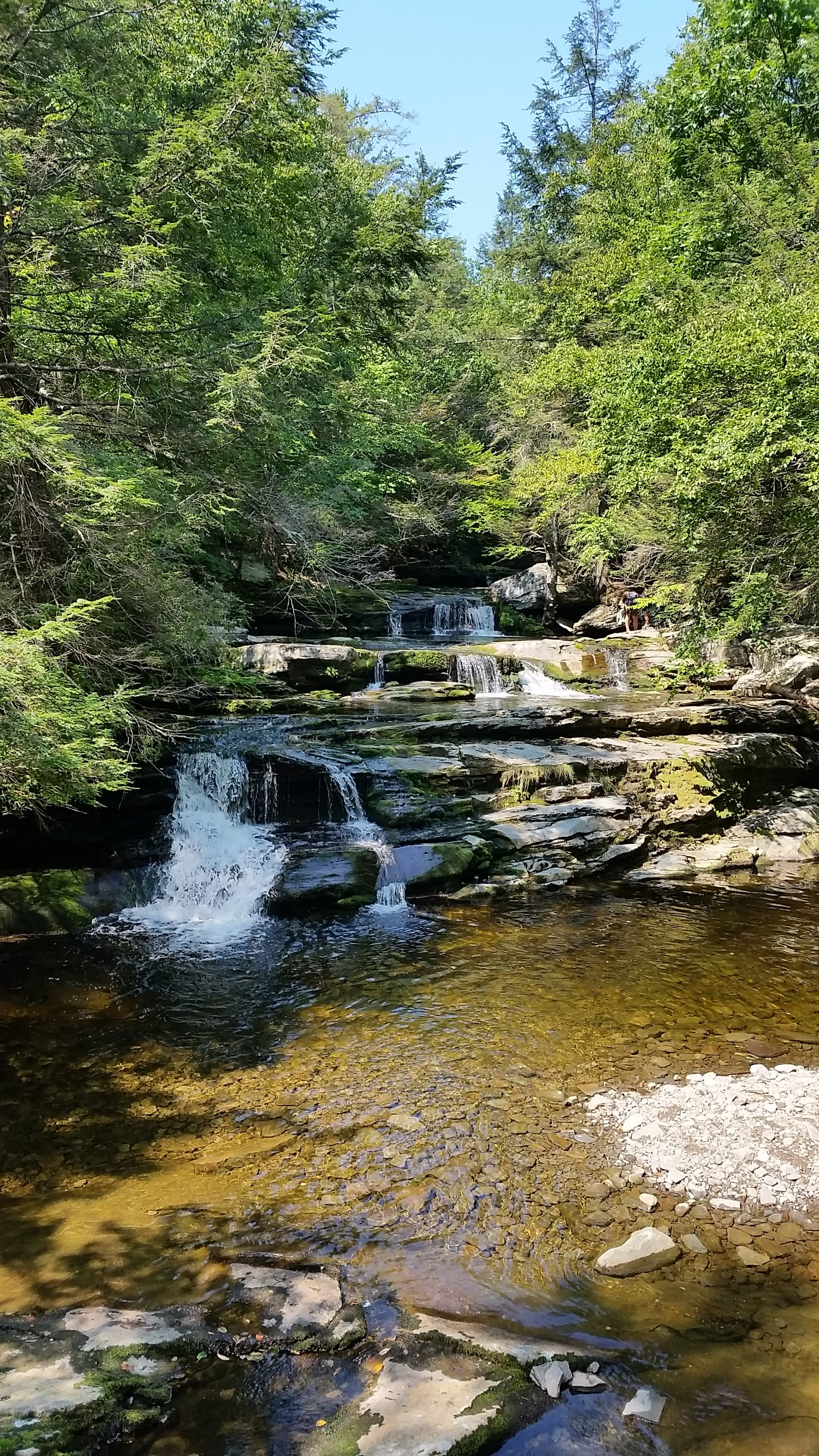 Vernooykill Falls - Hudson Valley Hiking Trails
