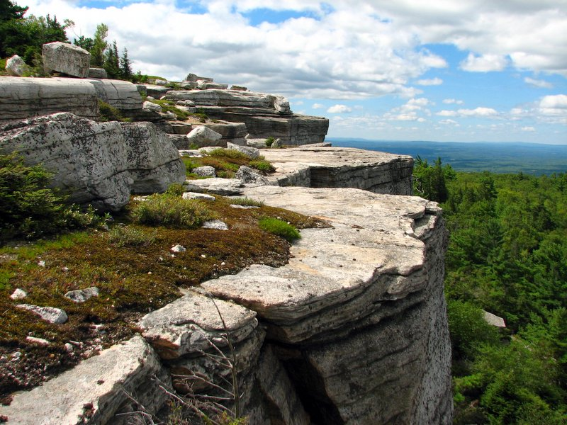 Gertrude's Nose - Hiking at Minnewaska Perserve
