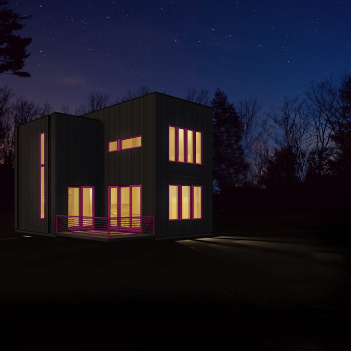 New Construction - Modern Homes for Sale - Hill Road Houses, Hudson Valley