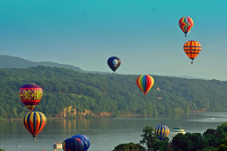 Hot Air Balloon Ride - Big Crazy Adventures in the Hudson Valley