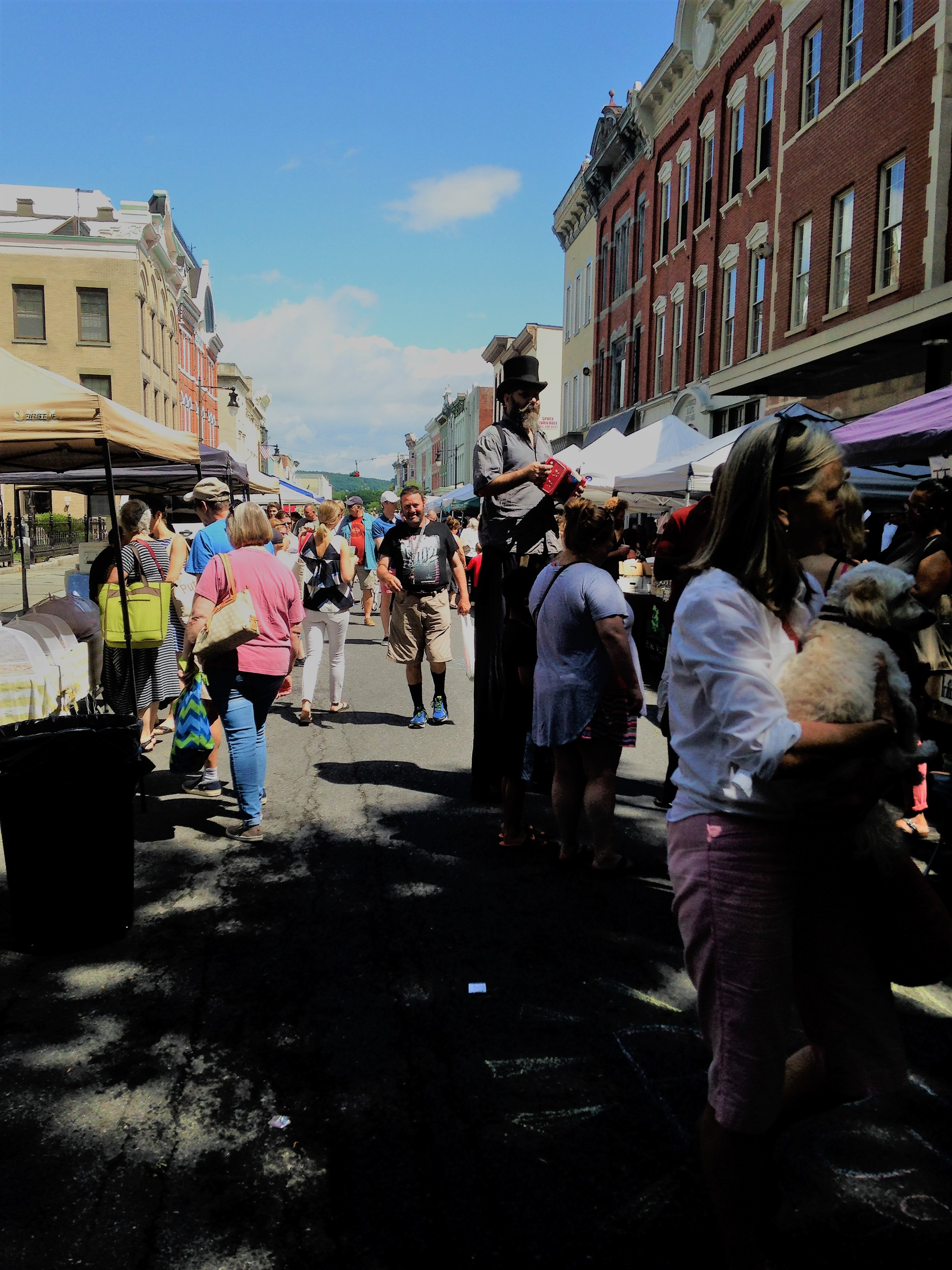Summer Fun at Kingston Farmers Market