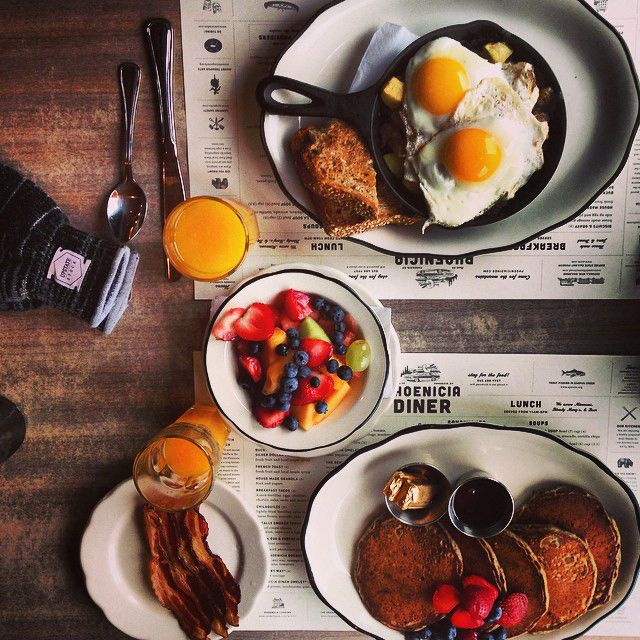 Best Spots for Breakfast and Brunch - in New York's Hudson Valley and Catskills