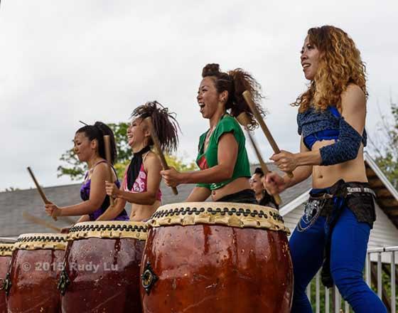 Drum Boogie Festival - Woodstock, NY - September in the Catskills