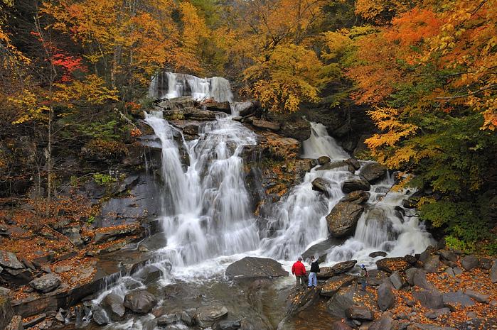 Kaaterskill Falls - HIkes in the Catskills