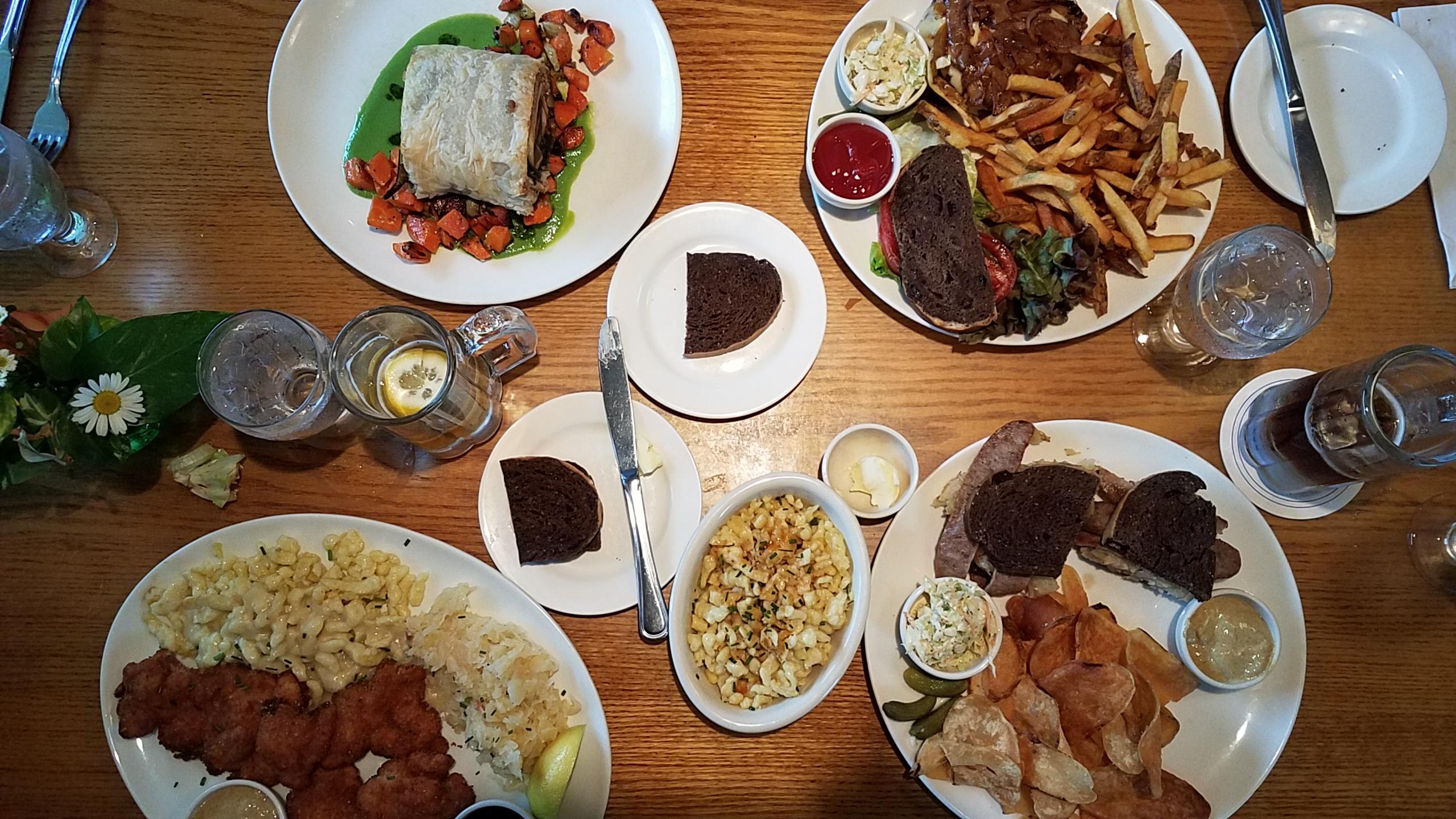 Mountain Brauhaus Restaurant in Gardiner - German Fare in the Hudson Valley