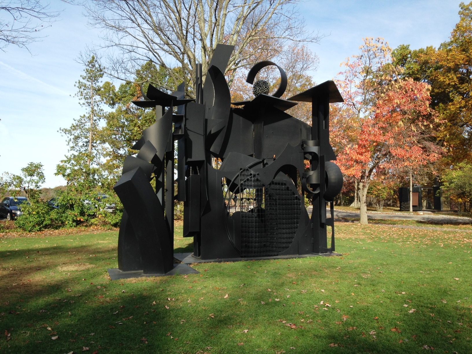 Outdoor Sculpture Park in the Hudson Valley - Storm King