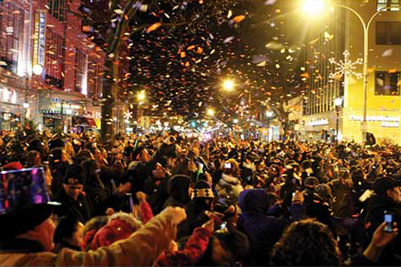 Celebrating New Year's Eve in the Hudson Valley