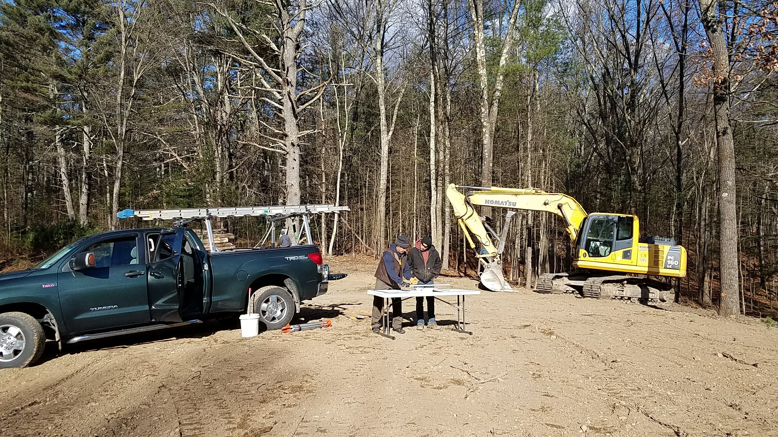 Preparing for Construction - Building Modern Homes in the Hudson Valley