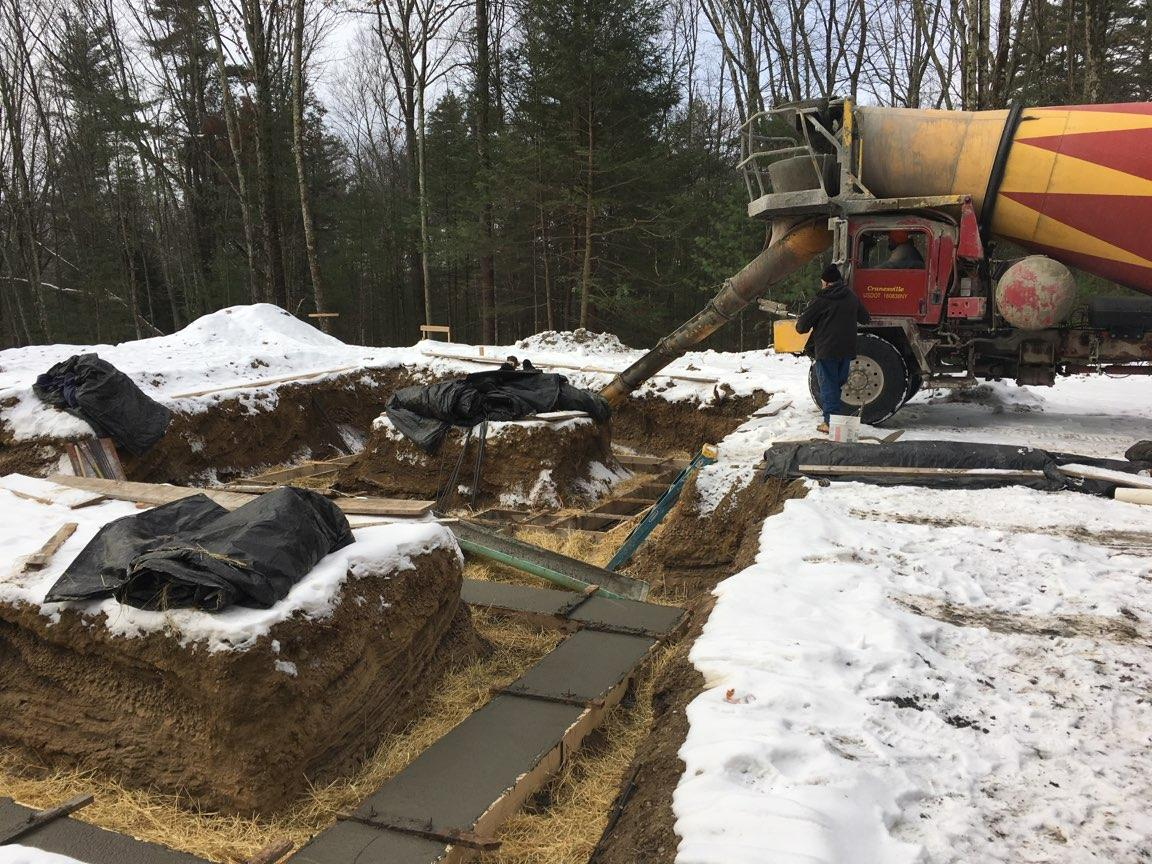 Pouring the Foundation - Building a Custom Modern Home
