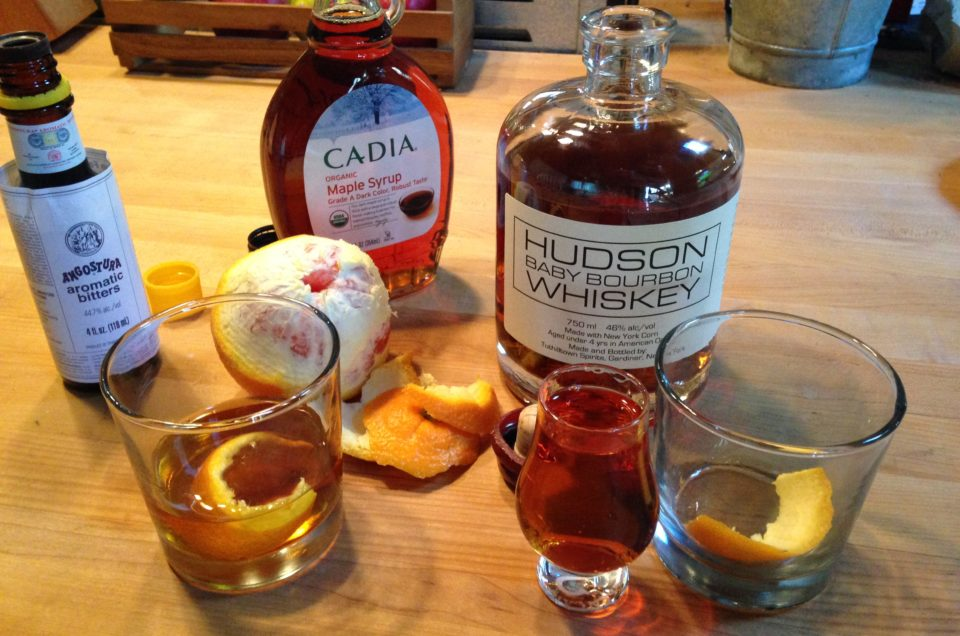 Winter Cocktails: Maple Old-Fashioned + Hudson Valley Sour