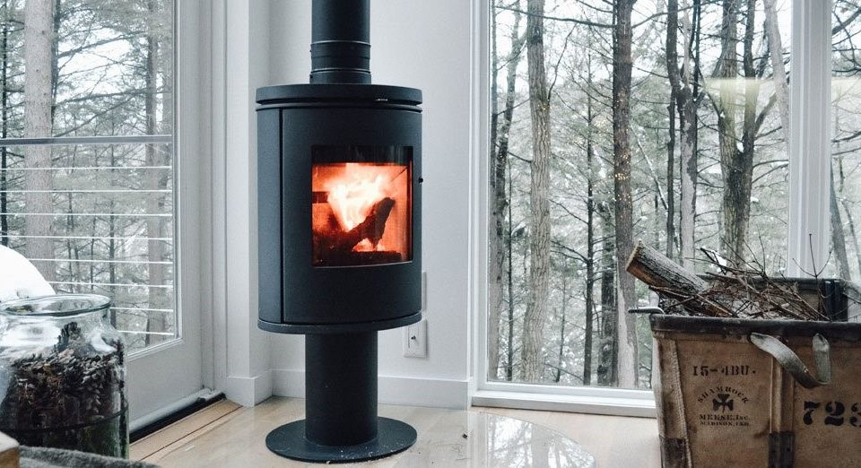 Modern Wood Stoves Hv Contemporary Homes Design In Ny S Hudson Valley